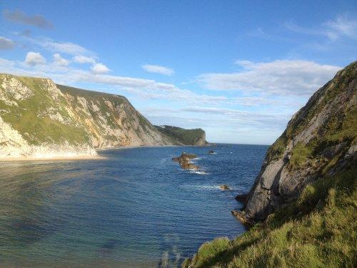 A Cove near Durdle Door, Dorset