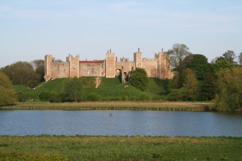 Framlingham Castle Ruins from the College