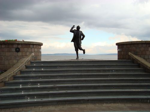 Statue of Eric Morecambe