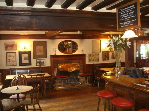 Interior of Henry VIII Inn