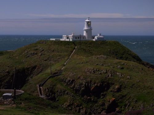 Strumble Head Lighthouse near Fishguard