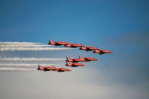 Red Arrows at Sunderland Airshow