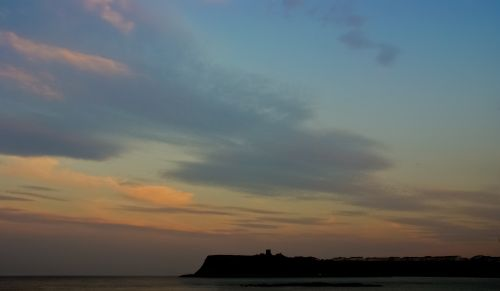 Sunset on the Castle, Scarborough