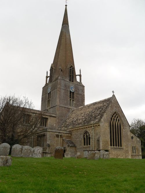 Bampton, Oxfordshire, St Mary's Church (XI century with some later additions)