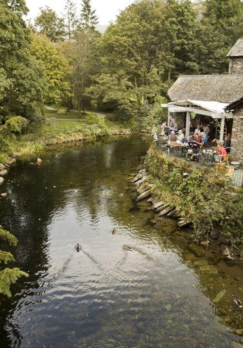 Grasmere village 6 riverside cafe again