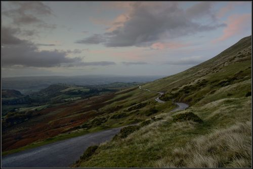 The road to Hay-on-Wye, Gospel Pass.