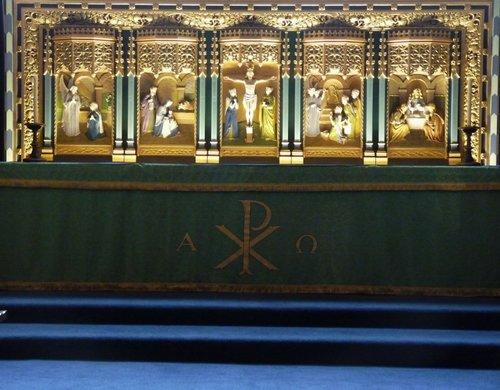 Cartmel Priory Altar