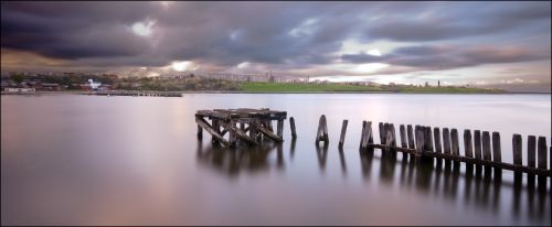 Old Jetty at Mouth of the Tyne/South Shields