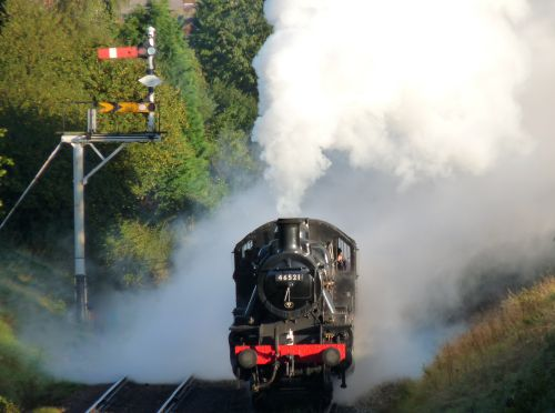 Letting off Steam on the Great Central Railway