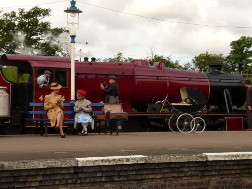 Great Central Railway 1940's weekend at Quorn station