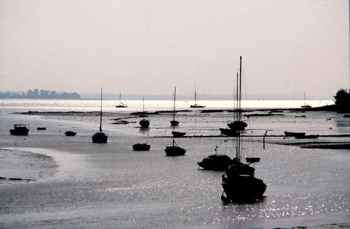 Holbrook Bay part of the river Stour at Manningtree