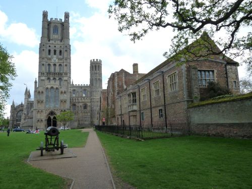 Exterior of Ely Cathedral