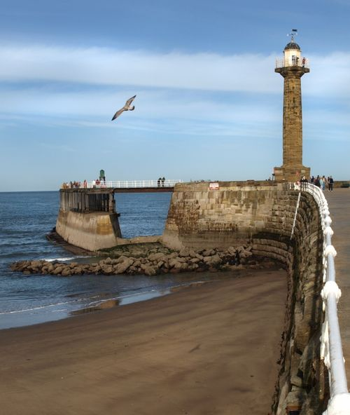 Whitby north pier
