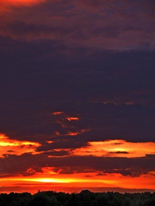 Sunset over Thurmaston