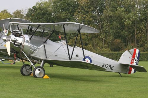 Hawker Tomtit Old Warden