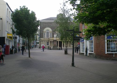 Guildhall Square, Carmarthen