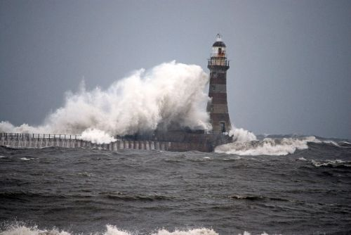 North Sea Storms at Roker