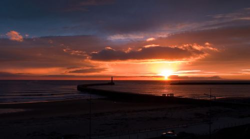 Daybreak over Roker