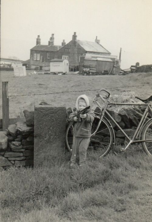 Hill Top Cottages, Delph 1960's.