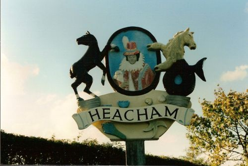 Heacham Village Sign