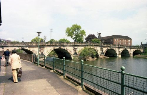 English Bridge, Shrewsbury