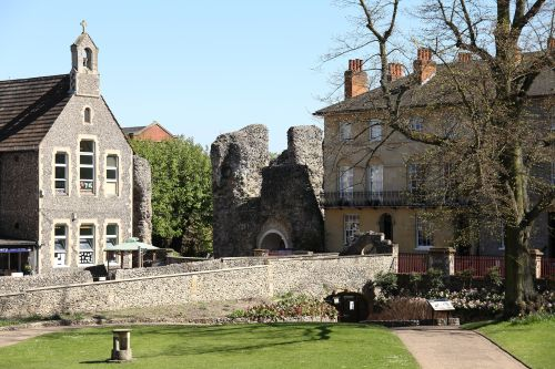 Forbury Gardens and Abbey Ruins, Reading