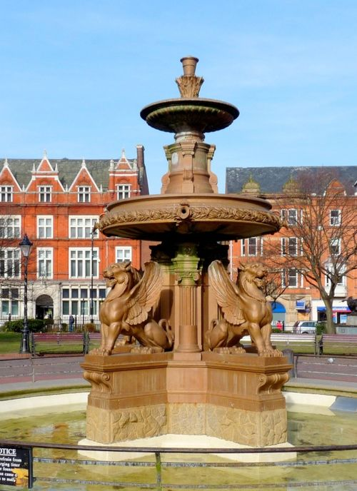 The Fountain Leicester Town Hall Square