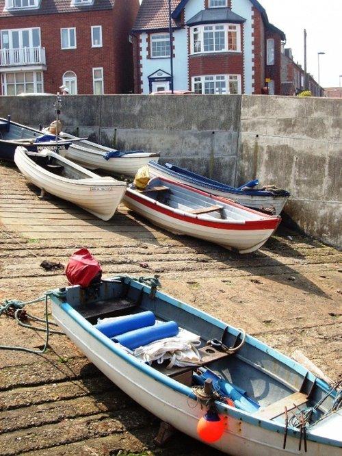 Boats at Sheringham