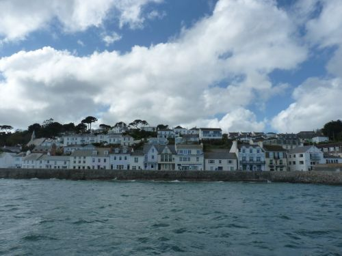 St Mawes from Offshore