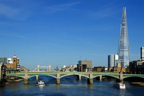 The Thames at Southwark Bridge, London