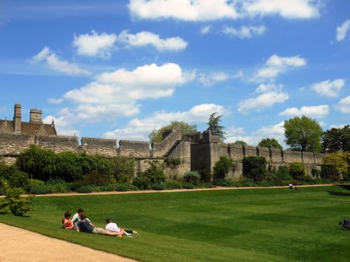 College Garden at New College, Oxford