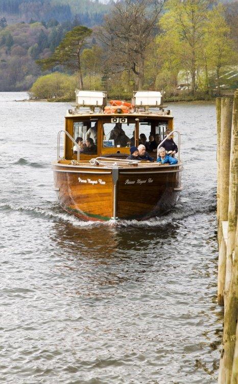 Derwentwater pleasure boat