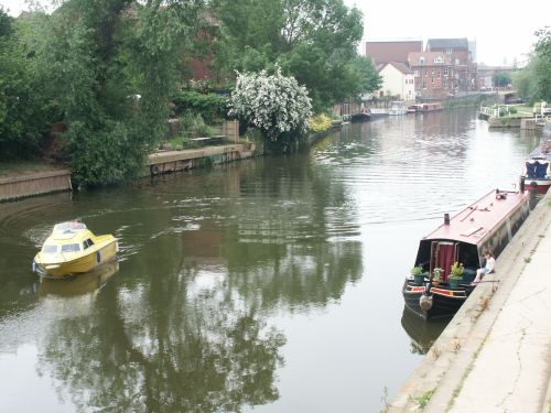 River Avon in Tewkesbury