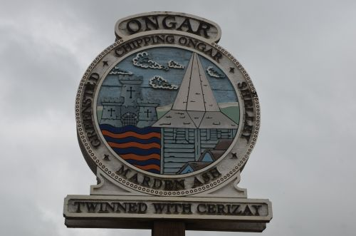 Chipping Ongar town sign