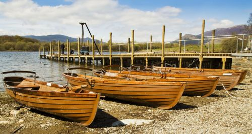 Derwentwater rowing boats