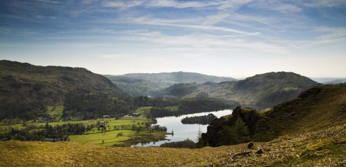 Grasmere and fells