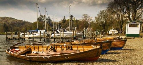 Ambleside, yet more boats!