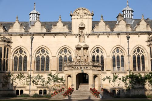 Oriel College, Oxford, the front Quad
