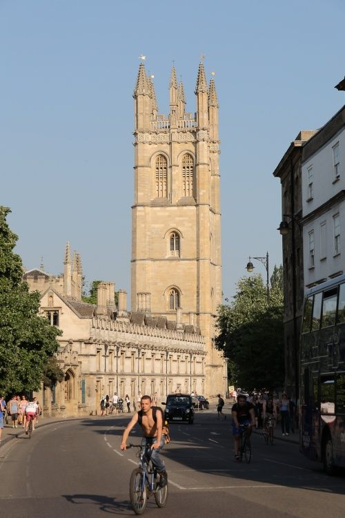 High Street, Oxford, looking towards Magdalen College