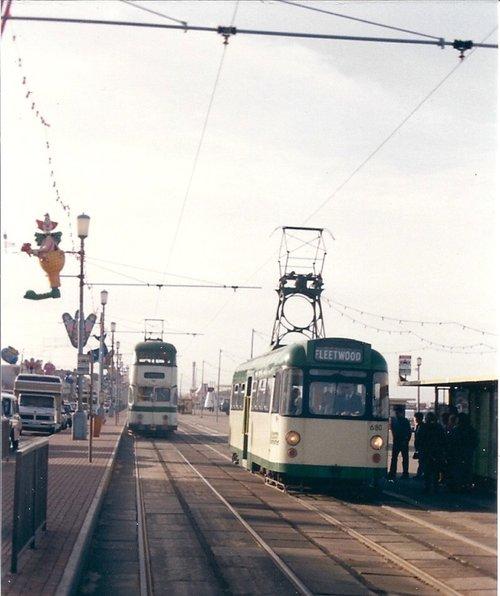 Blackpool Promenade Tramways