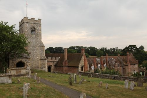 Ewelme, The Church, Almshouses and School