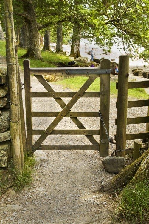 Derwentwater gate