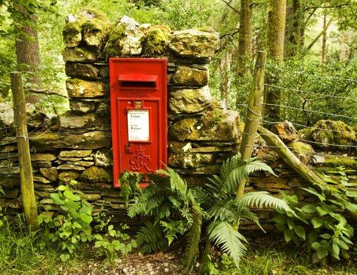Derwentwater post box