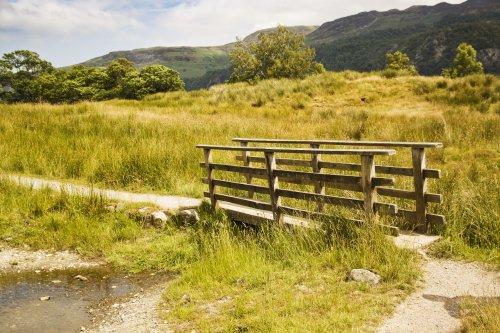 Cumbria Way footbridge