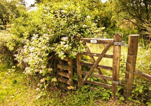 Disused gate Derwentwater