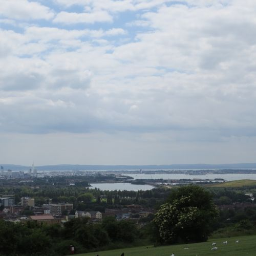 Overlooking Portsmouth
