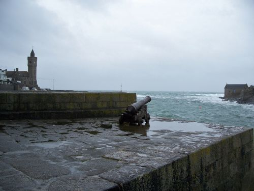 Rough weather at Porthleven