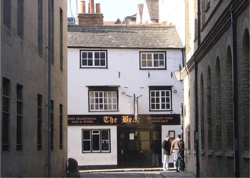 The Bell Public House, Blue Boar Street, Oxford, England