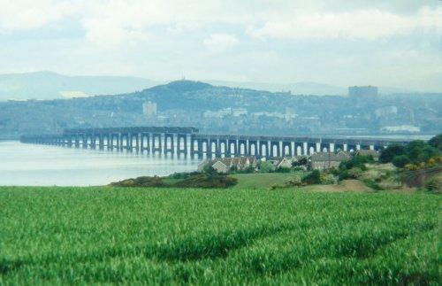 The Tay Railway Bridge at Wormit