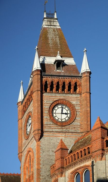 Town Hall Clock Tower, Reading
